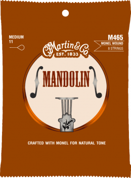 Martin&Co Mandolin M465 Monel Wound 8 Strings Medium 11