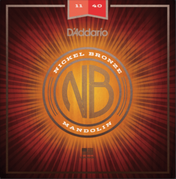 D'Addario NBM1140 Nickel Bronze Mandolin Medium Gauge