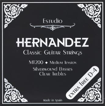 Hernandez Classic Guitar Strings MT200 Medium Tension