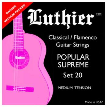 Luthier Classical / Flamenco Popular Supreme Set 20
