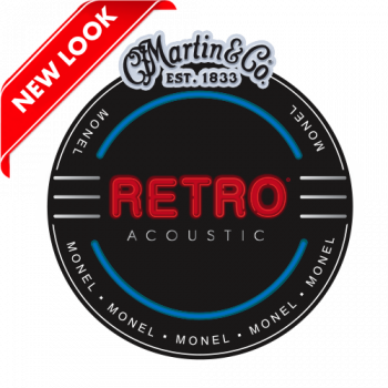 Martin&Co Retro Acoustic Monel MM12 Nickel 12 Light
