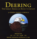 Deering 5-String Banjo Saiten Medium